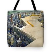 Als Beamlines And Inner Ring Tote Bag