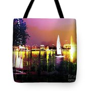 Alster In The Evening Tote Bag