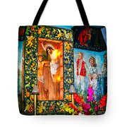 Altar Painted By Famous John Walach Tote Bag