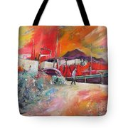 Altea Harbour Spain Tote Bag