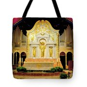 Alter - Cathedral Of St. Augustine Tote Bag