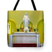Altered Altar Tote Bag