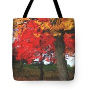 Altered State In The Park Tote Bag