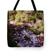 Altered States At The Park Tote Bag