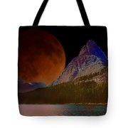 Alternate Universe Glacier Park Tote Bag