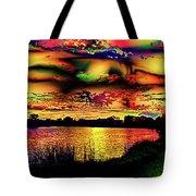 Alternative Cloud Design Tote Bag