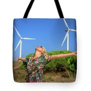 Alternative Energy Concept Tote Bag