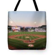 Altoona Curve Baseball Sunset Tote Bag