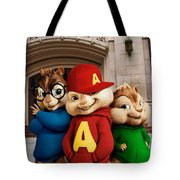 Alvin And The Chipmunks Tote Bag