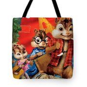 Alvin And The Chipmunks Chipwrecked Tote Bag