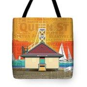 Always A Beacher Tote Bag