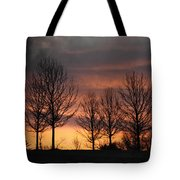 Always Darkest Before The Dawn Tote Bag