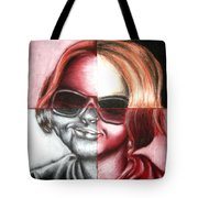 Always Divided Tote Bag