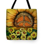 Always Face The Sun Tote Bag