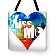 Always Kiss Me Goodnight 6 - Valentine's Day Tote Bag
