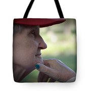 Alzheimer's The Aging Of A Lady Tote Bag