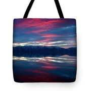A.m. On Antelope Island Tote Bag