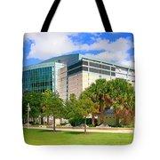 Amalie Arena Tampa Fl Tote Bag
