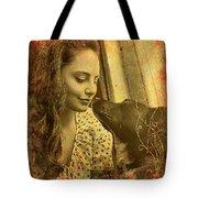 Amanda And Petey Tote Bag