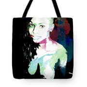 Amani African American Nude Fine Art Painting Print 4966.03 Tote Bag