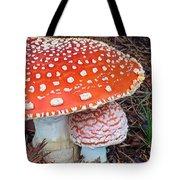 Amanita Muscaria - Red Mushroom Tote Bag