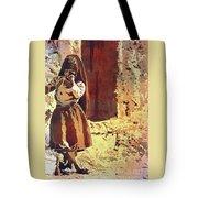 Amantani Girl- Peru Tote Bag