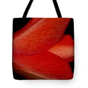 Amaryllis Flower Sideways Tote Bag