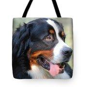 Amazing Bernese Mountain Dog Tote Bag