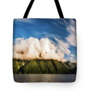 Amazing Cloud Formation At Lake Manapouri In New Zealand Tote Bag