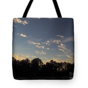 Amazing Clouds Before Sunset Tote Bag
