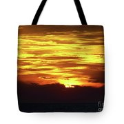Amazing Fire In The Sky Tote Bag