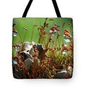 Amazing Jungle Of The Microcosm Tote Bag