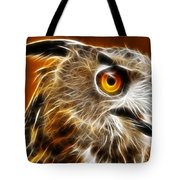 Amazing Owl Portrait Tote Bag