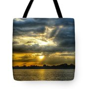 Amazing Rays Tote Bag