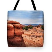 Amazing Rock Formations At Kodachrome Basin State Park, Usa. Tote Bag