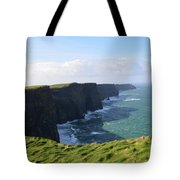 Amazing Scenic Views Of The Cliff's Of Moher Tote Bag