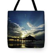 Amazing Sky Pier 60 Tote Bag