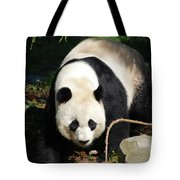 Amazing Sweet Chinese Giant Panda Bear Walking Around Tote Bag