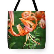 Amazing Tiger Lily Tote Bag