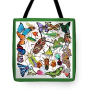 Amazon Insects Tote Bag