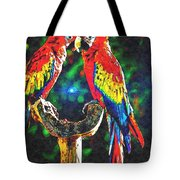 Amazon Parrotts Tote Bag