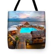 Amazon Swimming Pool Tote Bag
