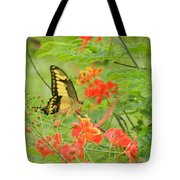 Amazonia Butterfly Tote Bag