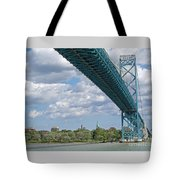 Ambassador Bridge - Windsor Approach Tote Bag