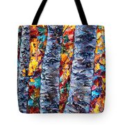 Amber Forest Tote Bag