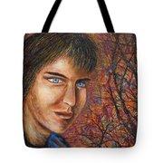 Amber Glow Tote Bag
