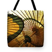 Amber Light Within Tote Bag