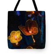 Amber Light Tote Bag