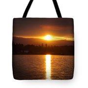 Amber Sunset Tote Bag