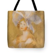 Amelie Dieterie In A White Hat Tote Bag